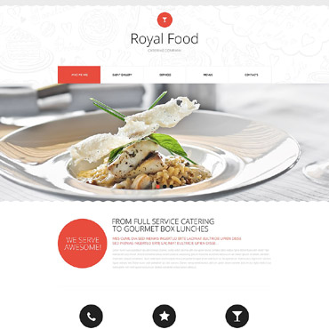 Website Template # 53290