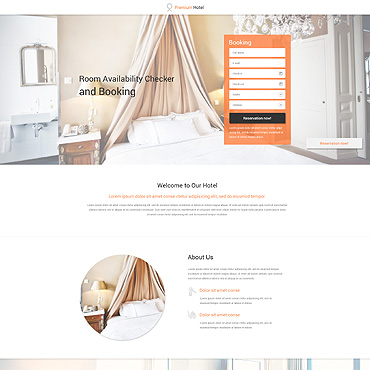 Landing Page Template # 53313