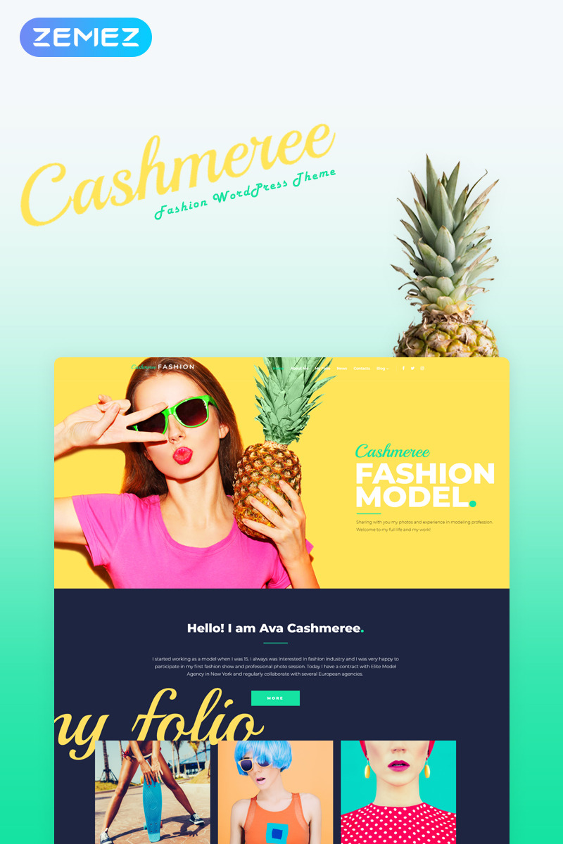 Fashion Most Popular website inspirations at your coffee break? Browse for more WordPress #templates! // Regular price: $75 // Sources available: .PSD, .PHP, This theme is widgetized #Fashion #Most Popular #WordPress