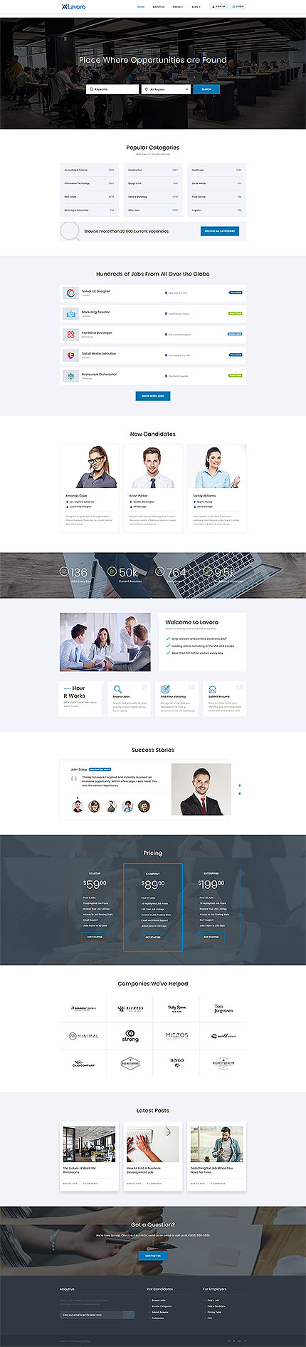 Business Most Popular website inspirations at your coffee break? Browse for more Responsive JavaScript Animated #templates! // Regular price: $72 // Sources available: .HTML,  .PSD #Business #Most Popular #Responsive JavaScript Animated