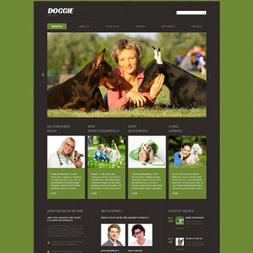Website Template # 53413