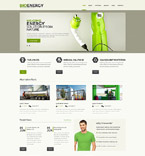 Bio Energy WordPress Template