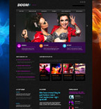 Responsive JavaScript Animated Template #53472