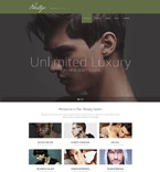 Responsive JavaScript Animated Template #53501