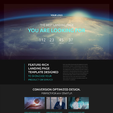 Landing Page Template # 53502