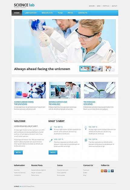 Science Most Popular website inspirations at your coffee break? Browse for more Moto CMS HTML #templates! // Regular price: $139 // Sources available:<b>Sources Not Included</b> #Science #Most Popular #Moto CMS HTML