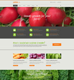 Agriculture Company Drupal Template
