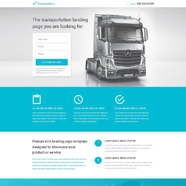 Landing Page Template # 53561