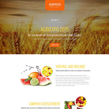 Landing Page Template # 53562