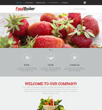 Responsive JavaScript Animated Template #53573