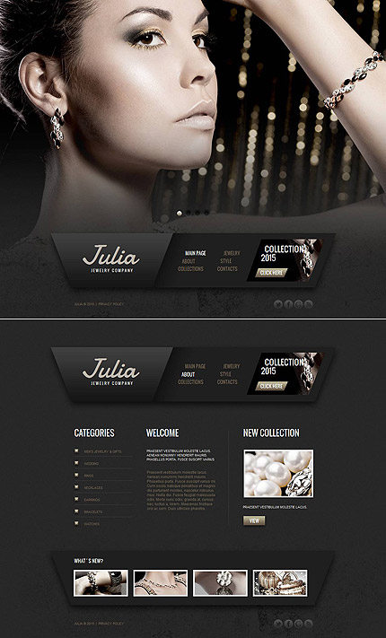 Jewelry Most Popular website inspirations at your coffee break? Browse for more Moto CMS HTML #templates! // Regular price: $139 // Sources available:<b>Sources Not Included</b> #Jewelry #Most Popular #Moto CMS HTML