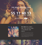Night Club Landing Page Template