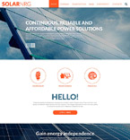 Responsive JavaScript Animated Template #53649