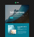 Creative Architecture Landing Page Template