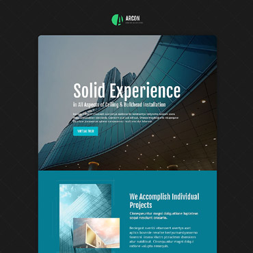 Landing Page Template # 53667