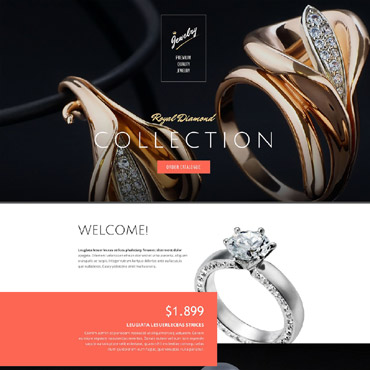 Landing Page Template # 53680