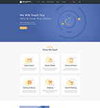 Responsive JavaScript Animated Template #53705