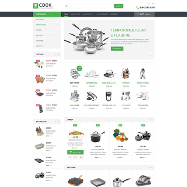 OpenCart Template # 53708
