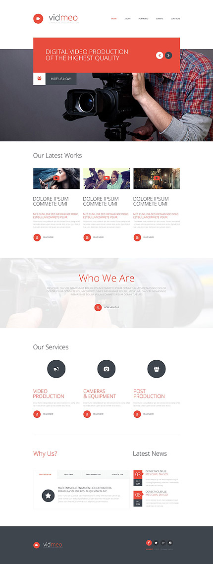 Media Most Popular website inspirations at your coffee break? Browse for more Responsive JavaScript Animated #templates! // Regular price: $69 // Sources available: .HTML,  .PSD #Media #Most Popular #Responsive JavaScript Animated