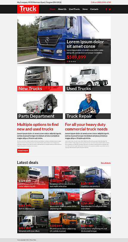 Transportation Most Popular website inspirations at your coffee break? Browse for more Bootstrap #templates! // Regular price: $75 // Sources available: .HTML,  .PSD #Transportation #Most Popular #Bootstrap