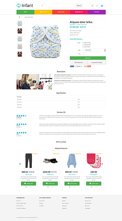 Family Most Popular website inspirations at your coffee break? Browse for more OpenCart #templates! // Regular price: $89 // Sources available: .PSD, .PNG, .PHP, .TPL, .JS #Family #Most Popular #OpenCart