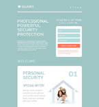 Guard Landing Page Template