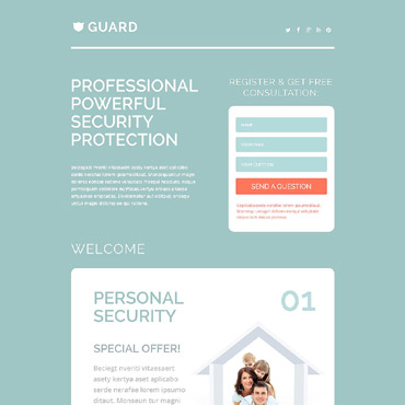 Landing Page Template # 53789