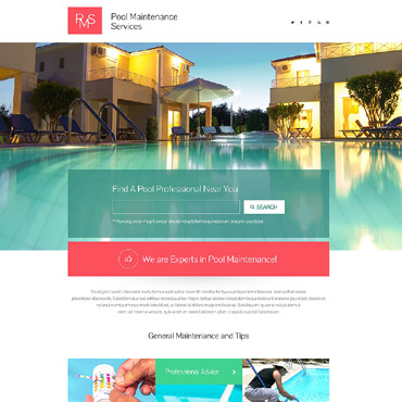 Landing Page Template # 53796