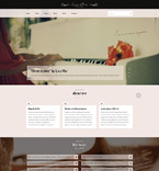 Responsive JavaScript Animated Template #53798