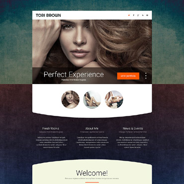 Landing Page Template # 53799