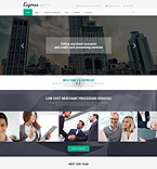 Responsive JavaScript Animated Template #53845