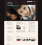 Responsive JavaScript Animated Template #53864