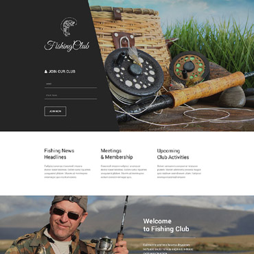 Landing Page Template # 53868