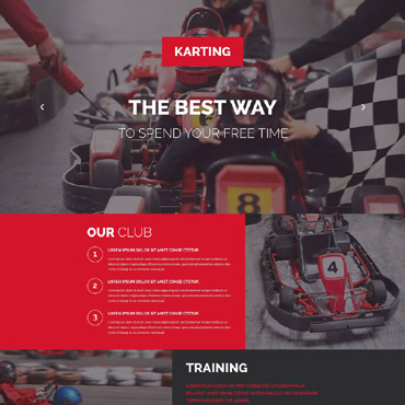 Landing Page Template # 53869