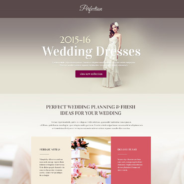 Landing Page Template # 53871