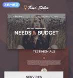 Personal Photographer WordPress Template