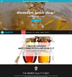 Responsive JavaScript Animated Template #53903