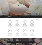 Responsive JavaScript Animated Template #53904