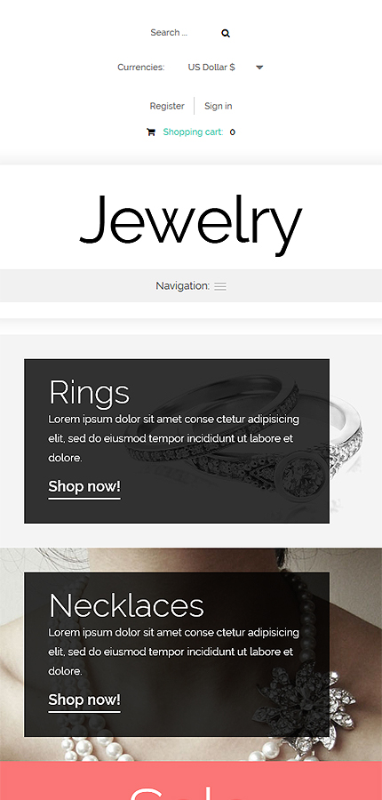 Jewelry Most Popular website inspirations at your coffee break? Browse for more VirtueMart #templates! // Regular price: $139 // Sources available: .HTML,  .PSD, .PHP, .XML, .CSS, .JS #Jewelry #Most Popular #VirtueMart
