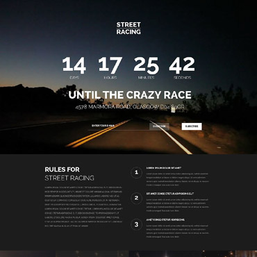 Landing Page Template # 53924