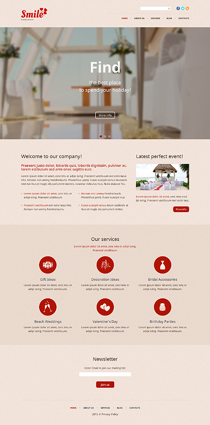 Most Popular St. Valentine website inspirations at your coffee break? Browse for more WordPress #templates! // Regular price: $75 // Sources available: .PSD, .PHP, This theme is widgetized #Most Popular #St. Valentine #WordPress
