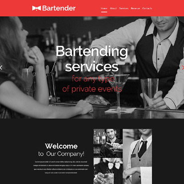 Website Template # 53944