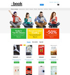 E-Book Store PrestaShop Template