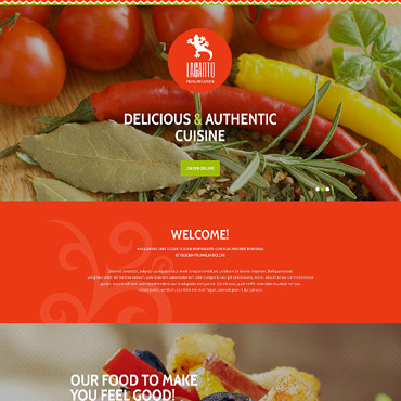 Landing Page Template # 53972