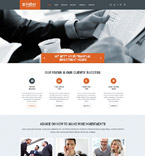 Responsive JavaScript Animated Template #53976