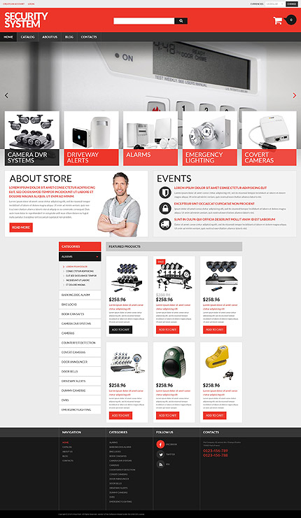 Security Most Popular website inspirations at your coffee break? Browse for more VirtueMart #templates! // Regular price: $139 // Sources available: .HTML,  .PSD, .PHP, .XML, .CSS, .JS #Security #Most Popular #VirtueMart