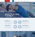 Responsive JavaScript Animated Template #53986