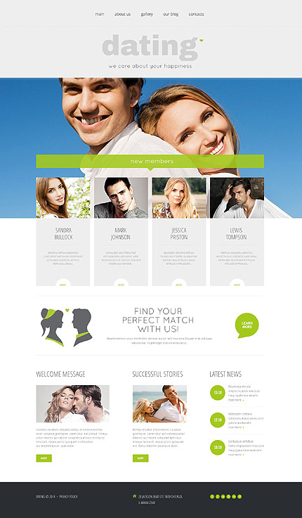Dating Most Popular website inspirations at your coffee break? Browse for more WordPress #templates! // Regular price: $75 // Sources available: .PSD, .PHP, This theme is widgetized #Dating #Most Popular #WordPress