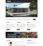 Responsive JavaScript Animated Template #54012
