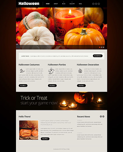 Most Popular Halloween Templates website inspirations at your coffee break? Browse for more Responsive JavaScript Animated #templates! // Regular price: $69 // Sources available: .HTML,  .PSD #Most Popular #Halloween Templates #Responsive JavaScript Animated